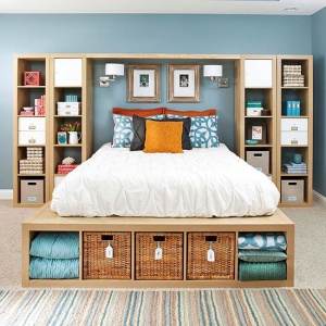 bedroom storage to tell architect